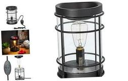Edison Bulb Electric Candle Warmer with Timer | Plug in Frag