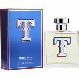 Texas Rangers Edt Spray 3.4 Oz For Men