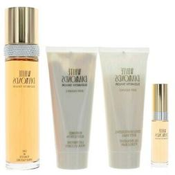 White Diamonds by Elizabeth Taylor for Women - 4 Pc Gift Set