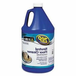 ZEP ZUNEUT128 Neutral Floor Cleaner Concentrate 128 Ounces