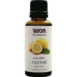 NOW Foods Essential Oils Lemon -- 1 fl oz