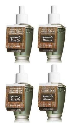Bath and Body Works 4 Pack Evening Hearth Wallflowers Fragra