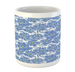 Ambesonne Floral Mug, Corsage Daisy Jasmine Petals Fragrance