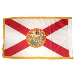 Online Stores Florida Nylon Flag with Indoor Pole Hem and Fr