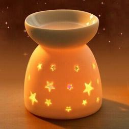 fragrance lamp ceramic essence oil burner candle