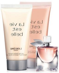 Lancome Fragrance Trio La Vie Est Belle Eau De Parfum + Body