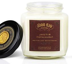 Ritual - Frankincense and Myrrh Scented Vegan Jar Soy Candle