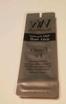 WoodWick Frasier Fir Scented Wax Melt 4 Piece  .77 Oz Highly