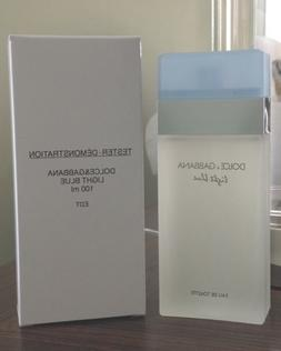 DOLCE GABBANA LIGHT BLUE WOMEN'S EDT 100ML 3.4 NEW IN BOX