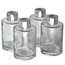 Feel Fragrance  Glass Diffuser Bottles Diffuser Jars with Ca