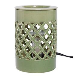 Hosley Ceramic Electric Candle Warmer for Cube Wax, Tart Wax