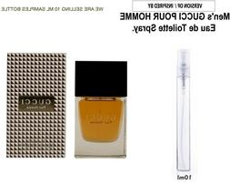 Gucci Pour Homme - SAMPLE - 10 ml Glass Atomizer - VERSION O