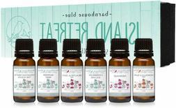 Island Retreat Gift Set of 6 Premium Fragrance Oils - Barrie
