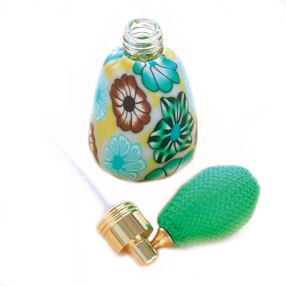 13ml Empty Polymer Clay Atomizer <font><b>Fragrance</b></font> Gasbag Essential Bottle 1Pcs Portable Travel Size