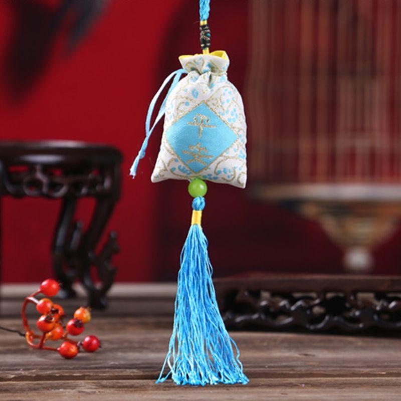 4PCS Hanging Lavender Folk Tassels Medicine <font><b>Spice</b></font> Decoration
