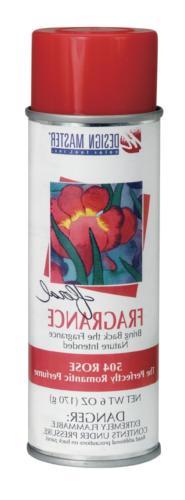 504 sprays fragrance rose