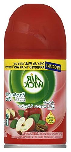 Air Wick 78283 6 Oz Apple Cinnamon Medley Automatic Spray Re