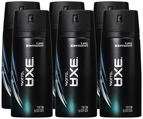 AXE Body Spray Deodorant Apollo 113 g / 4 Oz