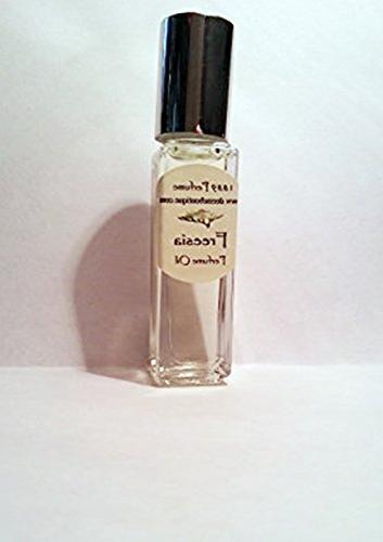 Freesia Perfume Oil - Alcohol Free - 1/3 oz Roll On White Fl