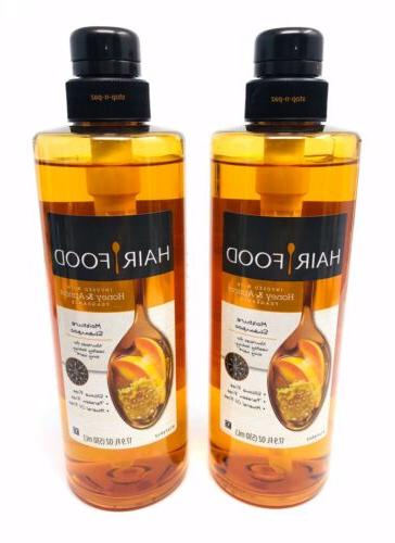 Hair Food Moisture Shampoo Infused With Honey Apricot Fragra