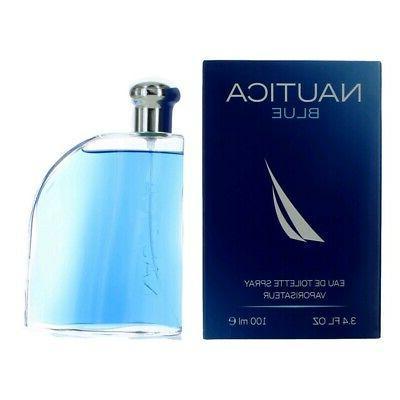 Nautica Blue by Nautica, 3.4 oz EDT Spray for Men