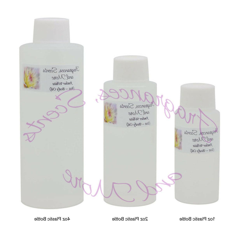 amber white perfume body oil 7 sizes