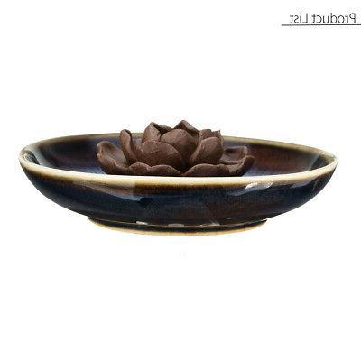 Backflow Ceramic Holder Plate Home Fragrances