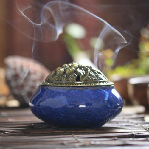 Backflow Ceramic Incense Holder Home Fragrances