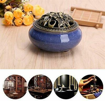 Backflow Ceramic Incense Holder Vintage Censer Fragrances