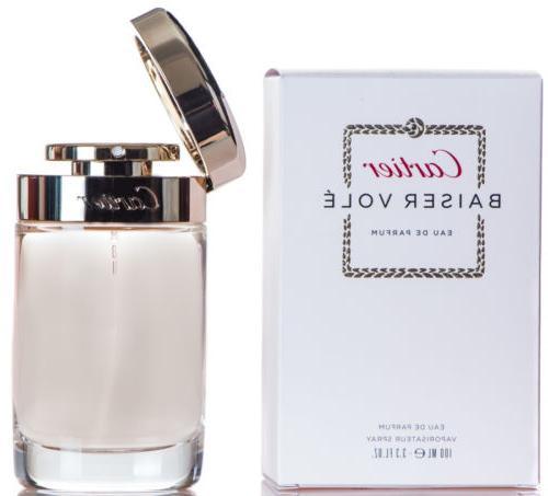Cartier Baiser Vole Perfume for Women 3.4 oz EDP Spray New i
