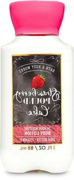Bath & Body Works Strawberry Pound Cake Body Lotion, 3 fl oz