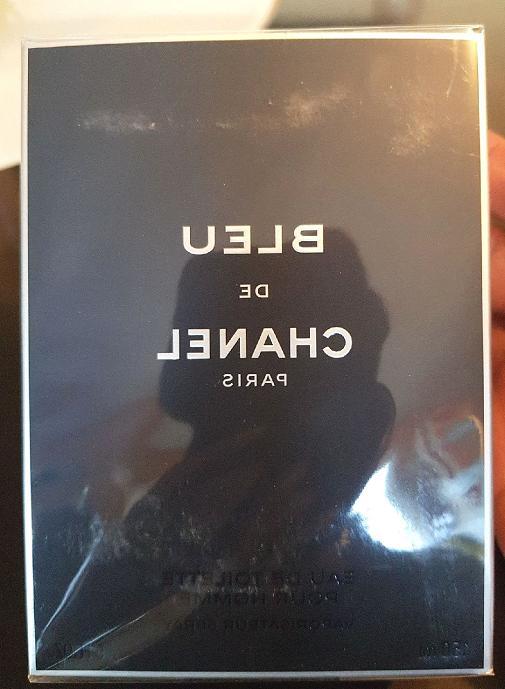 Bleu CHANEL Oz mL Men's Eau De New Sealed