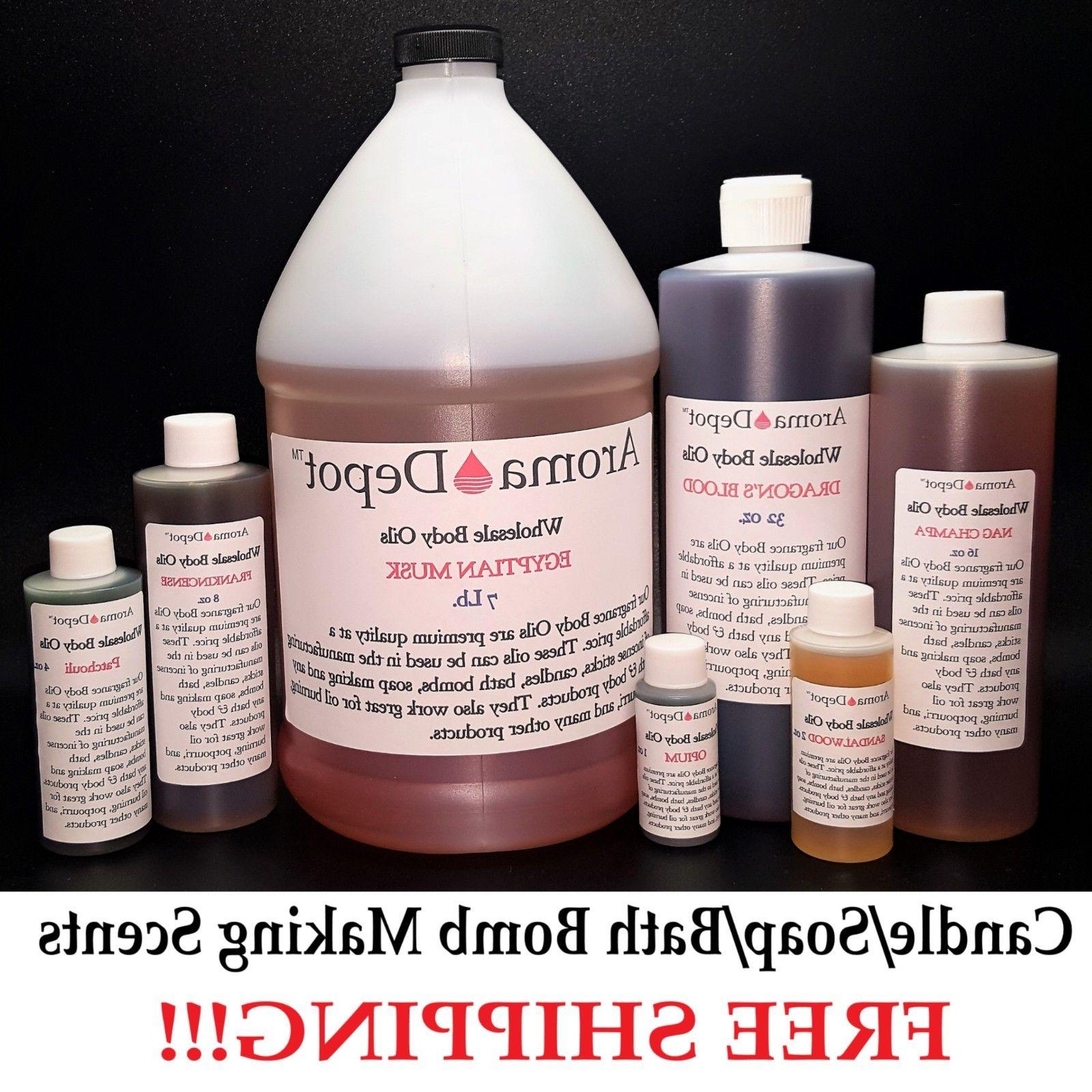 4 oz Scented Fragrance Oil Bomb Free