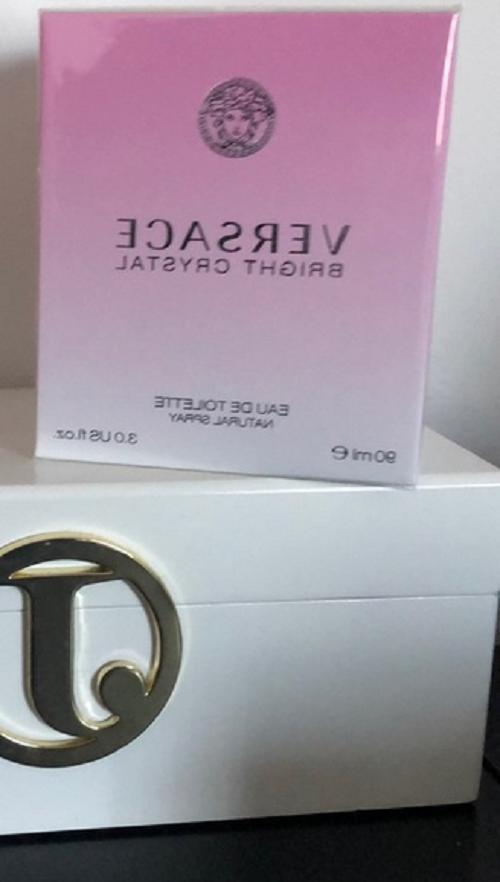 Versace Bright Crystal oz 90 De Toilette - NEW