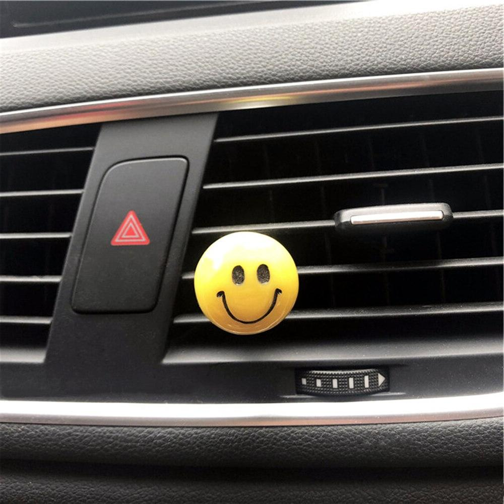 Car Air <font><b>Five</b></font>-Pointed Air Outlet Perfume Clip Automobile <font><b>Fragrance</b></font> Smell Diffuser Accessories