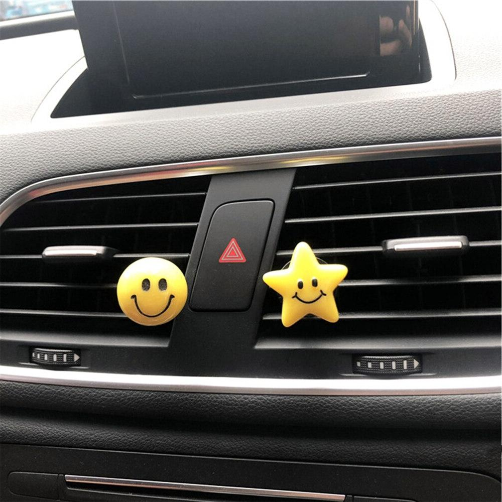 Car Air Freshener Round <font><b>Five</b></font>-Pointed Perfume <font><b>Fragrance</b></font> Smell Diffuser Accessories