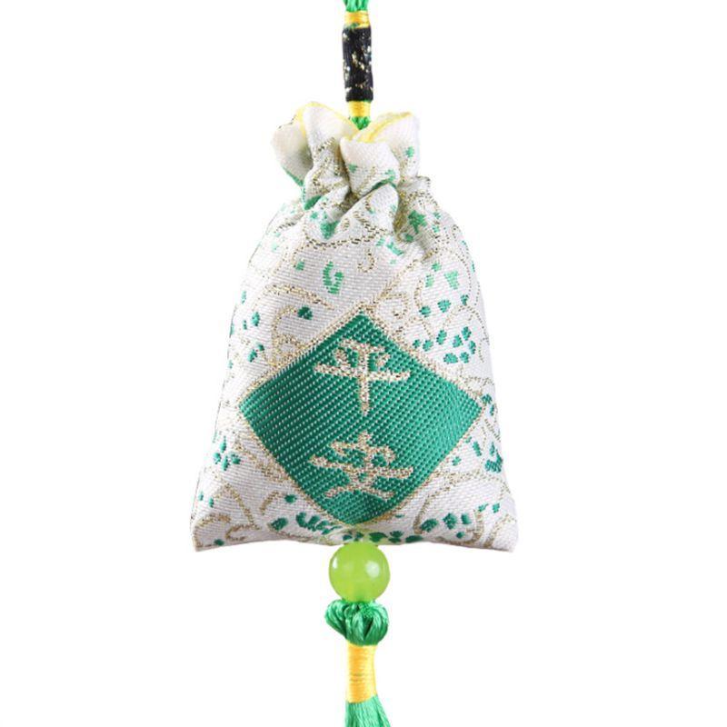 Car Hanging Lavender Sachet Bag Traditional Chinese Folk Art
