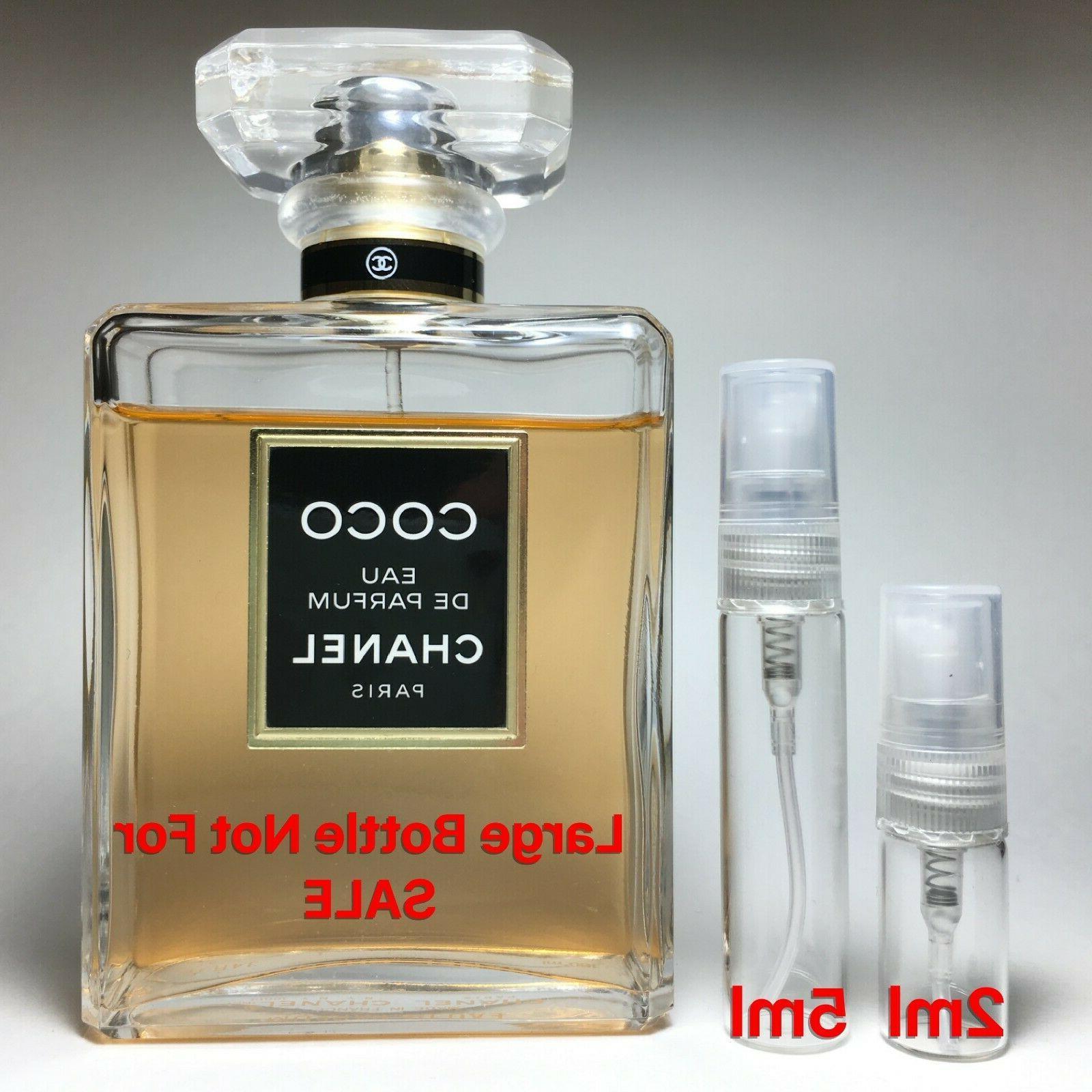 coco eau de parfum sample 2ml or