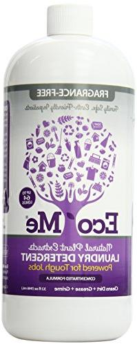 Eco-Me Laundry Natural Detergent, Organic Concentrated Liqui