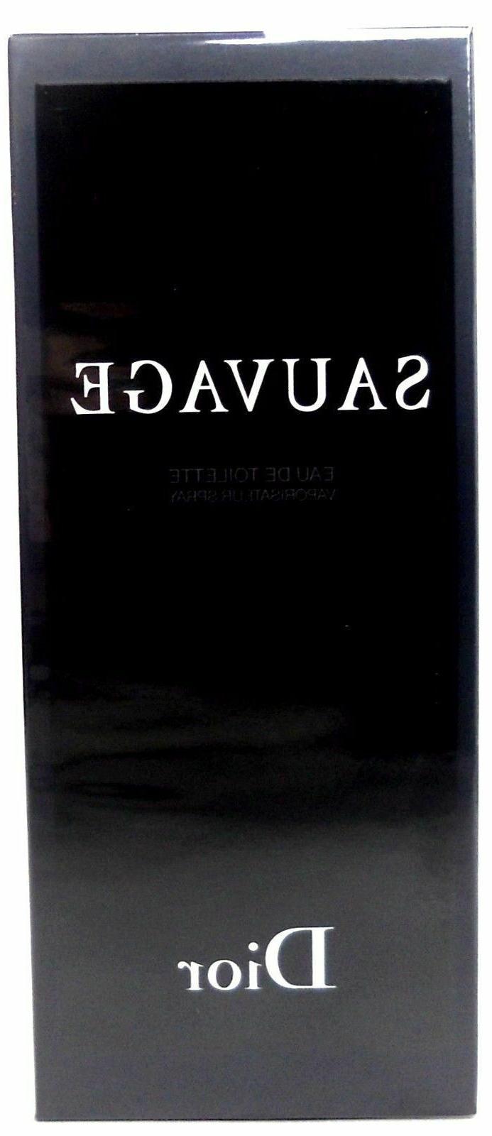 Dior Sauvage Cologne 6.8.oz. 200 ml. EDT Spray. Men. NEW