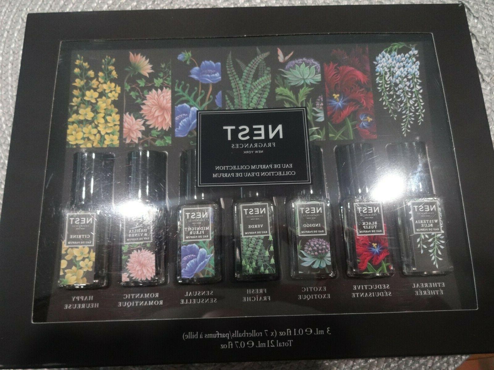 NEST Fragrances Eau Parfum Collection Set of 7 3ml 0.1oz