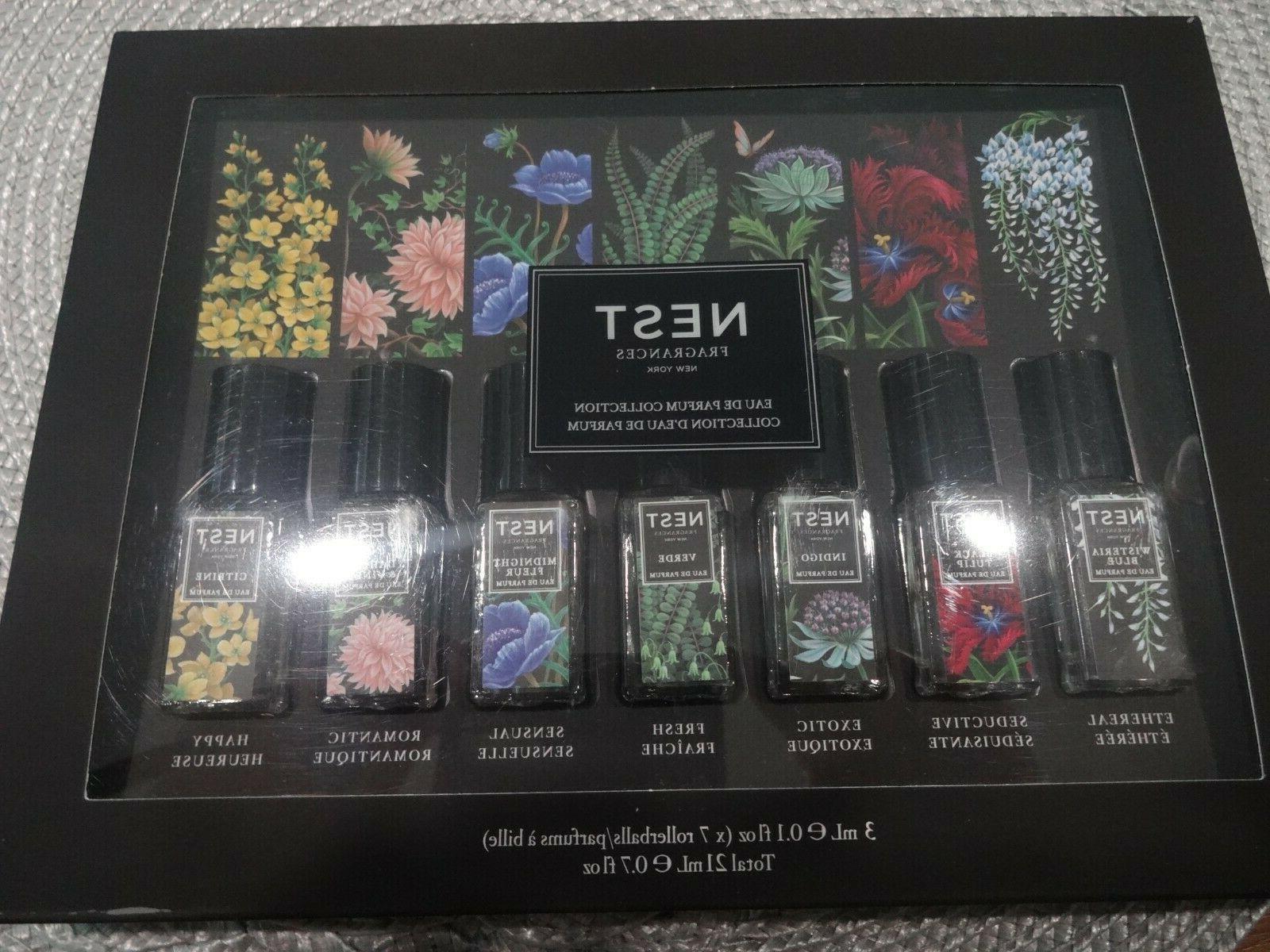 eau de parfum collection set of 7