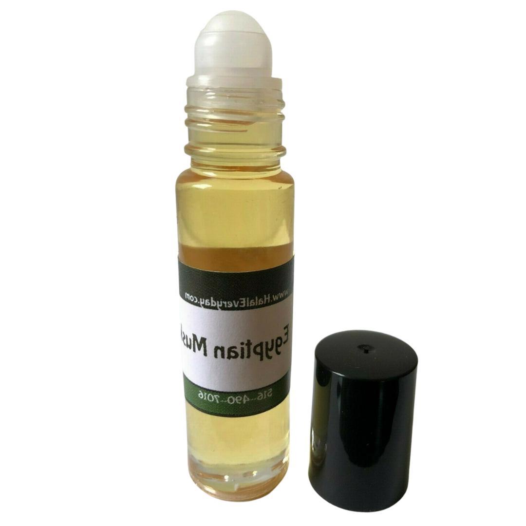 egyptian musk fragrance body oil roller thick