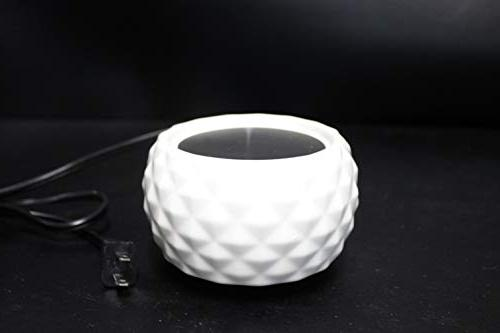 Electric 2-in-1 Candle Tart Burner - 2 Ceramic Wax Melter Flameless Air