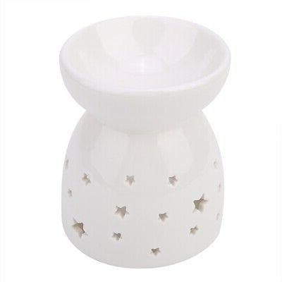 Fragrance Lamp Ceramic Oil Burner Candle Aromatherapy