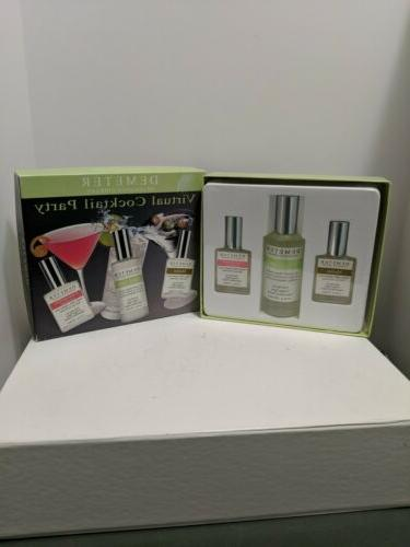 Demeter Fragrance Virtual Cocktail Party Martini GIN & Tonic