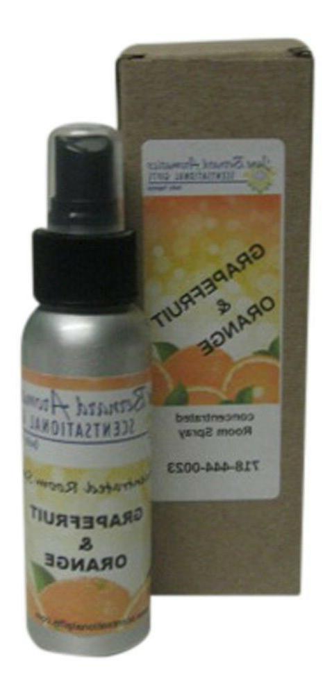 Jane Bernard Grapefruit and Orange Home Fragrance Room Spray