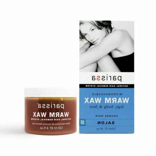 Parissa Hair Remover Warm Wax - 4 oz