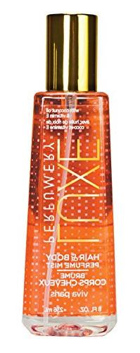 Luxe Perfumery Hair and Body Perfume Mist, Viva Paris, 8 Flu