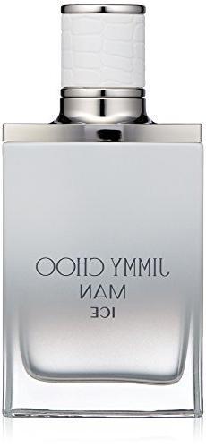 JIMMY CHOO Man Ice Eau De Toilette, Citrus Aromatic Woody, 1